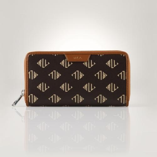 Ralph Lauren Signature Zip Wallet