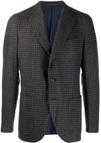Caruso houndstooth suit jacket