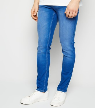 New Look Bright Mid Wash Skinny Stretch Jeans