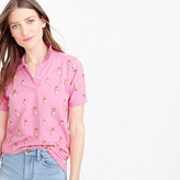 J.Crew Collection embellished polo shirt