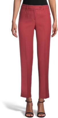 Anne Klein Duke Slim Straight Leg Pants