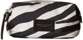 Marc Jacobs Zebra Printed Biker Cosmetics Landscape Pouch