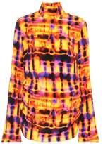 Ellery Printed silk top