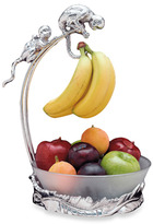 Arthur Court Monkey Banana Holder with Fruit Bowl