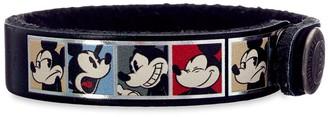 Disney Mickey Mouse Comic Leather Bracelet Personalizable