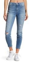 Genetic Los Angeles Runaway Distressed Cropped Jeans