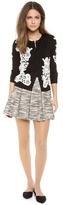 Alice + Olivia Davis Pleated Pouf Skirt