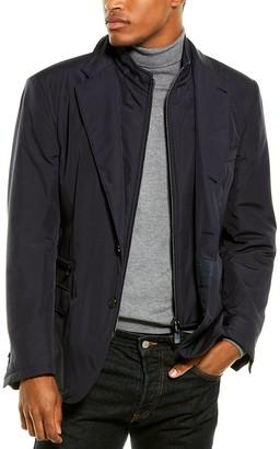 Corneliani Wool-Trim Jacket