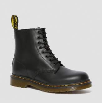 Dr. Martens Black Leather 1460 Smooth Boots - leather | black | 36 - Black/Black