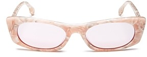 Le Specs Luxe Women's Deep Shade Square Sunglasses, 51mm