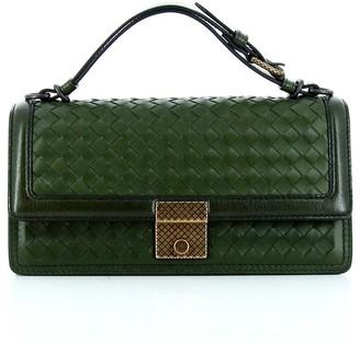 Bottega Veneta Intrecciato Top Handle Bag