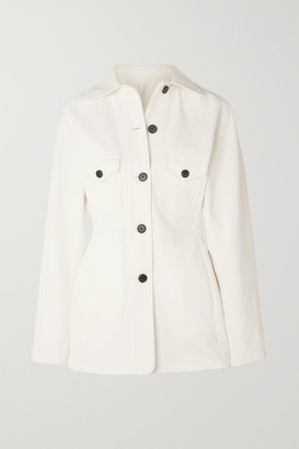 LVIR Cotton-canvas Jacket - Ivory