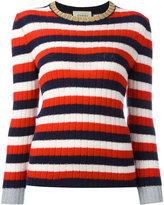 Gucci striped jumper - women - Cashmere/Wool - M