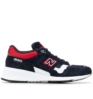 New Balance 1530 Embroidered Low-Top Sneakers