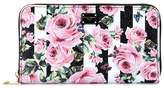 Dolce & Gabbana Floral-printed leather wallet