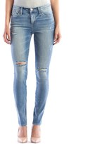 Rock & Republic Women's Berlin Light Wash Ripped Skinny Jeans