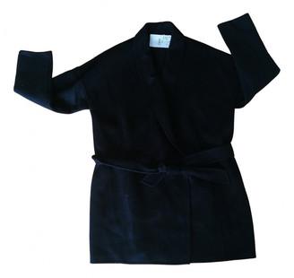 Comptoir des Cotonniers Black Wool Coats