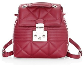 Furla Mini Fortuna Quilted Leather Backpack