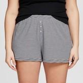 Xhilaration Women's Plus Size Knit Pajama Short