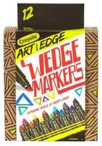 Crayola ; Art with Edge Wedge Markers 12ct
