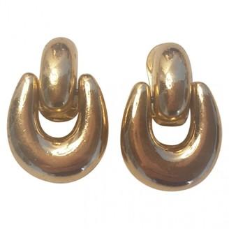 Burberry Gold Metal Earrings