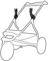 Mountain Buggy Urban Jungle Car Seat Adapters