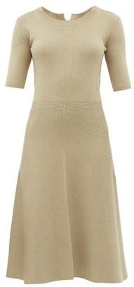 Altuzarra Delaware Knitted Midi Dress - Ivory