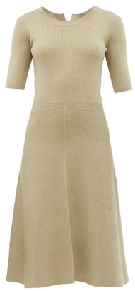 Altuzarra Delaware Knitted Midi Dress - Womens - Ivory