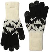 Pendleton Jacquard Texting Gloves Wool Gloves