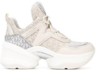 MICHAEL Michael Kors Olympia chunky sneakers