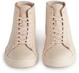 Reiss Bradley Mid - Clae Mid Top Sneakers in White, Mens