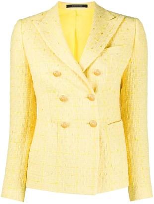 Tagliatore tweed check jacket