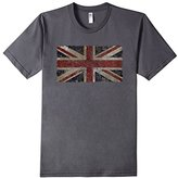 Men's British Flag | Distressed Vintage Style UK Flag T-Shirt