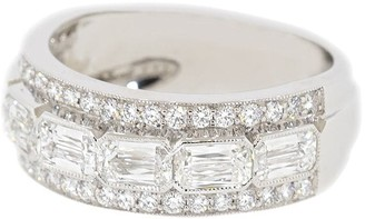 Kwiat 18kt White Gold Diamond Ring