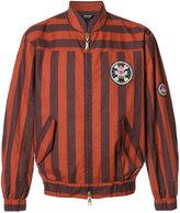 Vivienne Westwood Man - striped bomber jacket - men - Cotton - 46