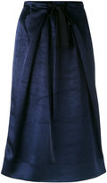 Victoria Beckham pleated skirt - women - Viscose - 6