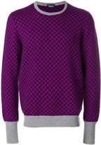 Drumohr embroidered cashmere sweater