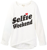 Ten Sixty Sherman Selfie Weekend Long Sleeve Tee (Big Girls)