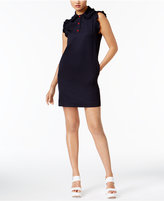 Love Moschino Ruffled Shirtdress
