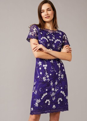 Phase Eight Floris Embroidered Dress