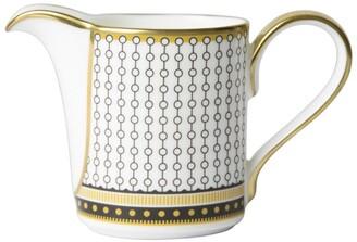 Royal Crown Derby Oscillate Onyx Cream Jug