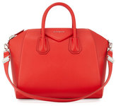 Givenchy Antigona Medium Leather Satchel Bag, Medium Red