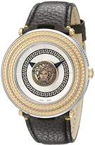 Versace Men's VQL010015 V-Metal Icon Analog Display Swiss Quartz Watch