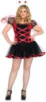 Leg Avenue Women's Plus Size 3 Piece Lovely Ladybug Costume