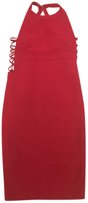 GUESS Burgundy Cotton - elasthane Dress for Women