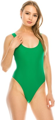 KENDALL + KYLIE Women's Kendall & Kylie Low Back One-Piece Swimsuit