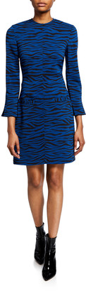 A.L.C. Noelle Striped Crewneck Dress