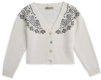 Ermanno Scervino Embellished Cardigan (6-16 Years)