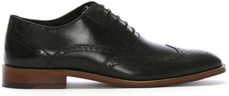 Daniel Wedmore Black Leather Lace Up Brogues