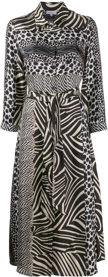Pierre Louis Mascia Pierre-Louis Mascia animal print dress